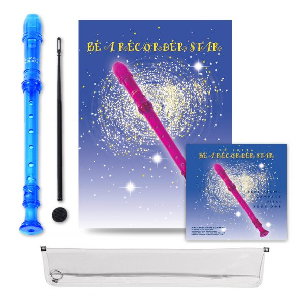 Be A Recorder Star® Kingsley Kolor® Package With CD