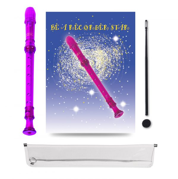 Be A Recorder Star® Kingsley Kolor® Package Fuchsia