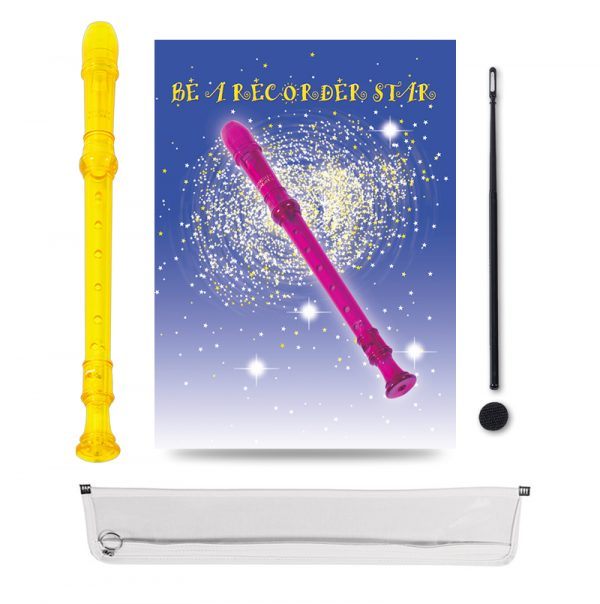 Be A Recorder Star® Kingsley Kolor® Package Yellow
