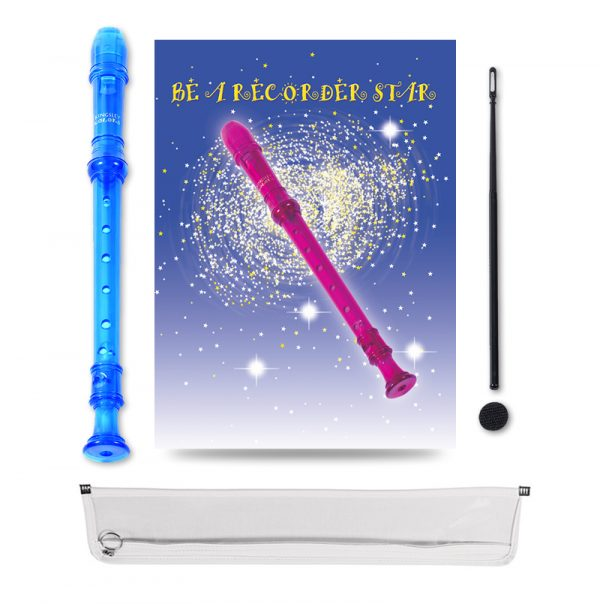 Be A Recorder Star® Kingsley Kolor® Package blue