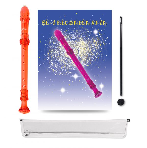 Be A Recorder Star® Kingsley Kolor® Package orange