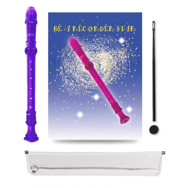 Be A Recorder Star® Kingsley Kolor® Package purple