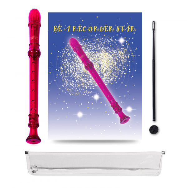 Be A Recorder Star® Kingsley Kolor® Package red